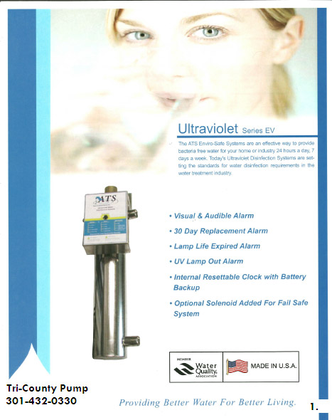 UV Light Water Treatment Systems