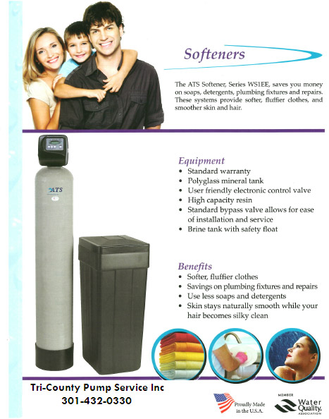 Water Softeners - Water Treatment Systems