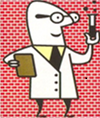 Cartoon Scientist