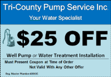 Water pumps, water treatment in MD, VA & WV