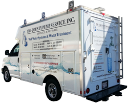Well Pump System Service Truck | Tri-County Pumps