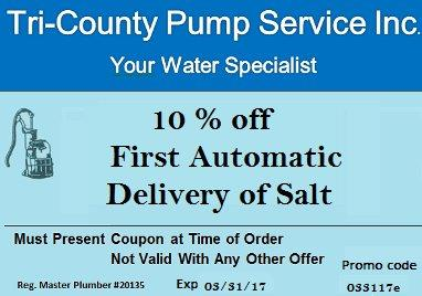 Sign up for our Automated Salt Delivery Program and recieve 10% off your 1st Delivery.