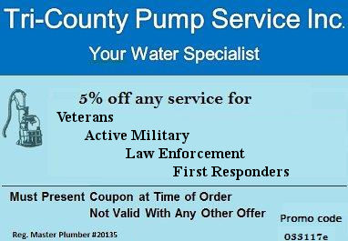 5% off any service for Veterans - Active Military - Law Enforcement - First Responders