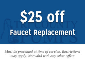 $50 off faucet replacement