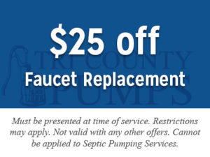 $25 off faucet replacement